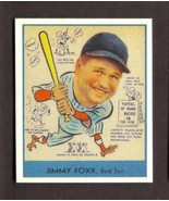 JIMMY JIMMIE FOXX Card RP #273 Red Sox RC 1938 G Heads Up Free Shipping - $2.99
