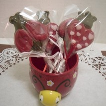 A dozen Love Bug lollipops - $15.00