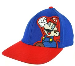 Super Mario Bros A-Flex Unisex Baseball Hat Cap 2010 One Size Embroidere... - $17.75