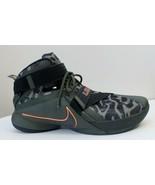 Nike Zoom LeBron Soldier IX PRM Cargo Khaki / Black-Sequoia 74949030300 Size 14 - $73.87