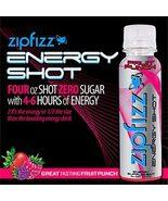 Zipfizz Fruit Punch Flavor Energy Shot Low Calorie - Instant Energy -New - $39.99