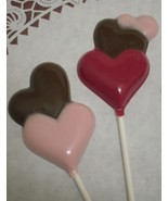 A Dozen Multiple Hearts Lollipops - $18.00
