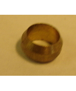 Brass Compression Sleeve for M6 Oil Hose - $0.75