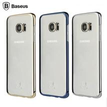 Baseus Phone Case For Samsung Galaxy S7 Edge Luxury Plating Frame Ultra ... - $14.99