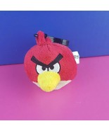 Angry Birds Plush Backpack Clip Red Bird Commonwealth Toys Stuffed