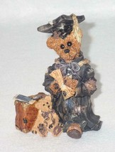 Boyd Bearstone Resin Bears Edmund The Graduate Carpe Diem Figurine 6E #2... - $8.56