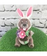 Disney Winnie The Pooh Easter Bunny Goffer Plush Stuffed Animal Soft Toy - $9.89