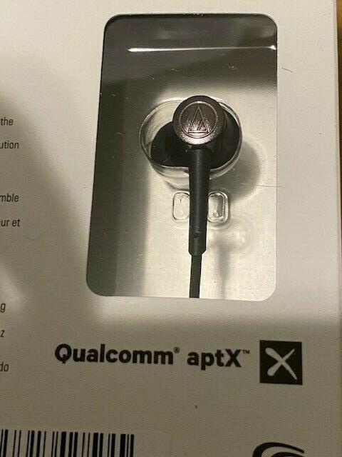 Audio-Technica Wireless Headphones Black In-Ear Bluetooth Earbuds (ATH-CKR55BT)