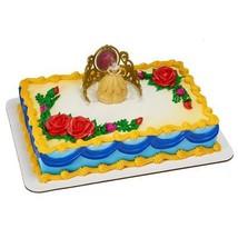 "Decopac Princess Belle Beautiful as a Rose Cake Decorating Set, 3.1"" x 2"" - $10.84"