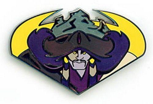 Disneyana 2000 Small World Mulan Shan-Yu LE Signed pin/pins - $40.18