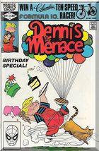 Dennis The Menace #3 (1982) *Bronze Age / Marvel Comics / Birthday Special* - $3.00