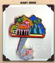 Disneyana Convention Dumbo Baby Mine dangle  Artist Choice pin/pins - $72.57