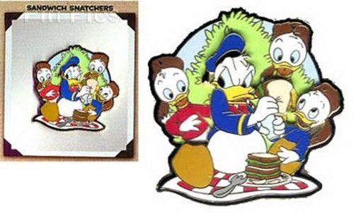 Disneyana Convention Donald & Nephews Huey, Dewey Louie Artist Choice pin/pins
