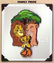 Disneyana Convention Lion King dangle Family Pride Artist Choice pin/pins - $47.41