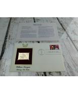 William Saroyan Literary Arts 22kt Golden Replica Stamp 1991 First Day S... - $19.79