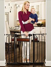 Regalo Home Accents 43-Inch Extra Wide Walk Thru Baby Gate, Includes Déc... - $51.58