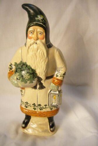 Vaillanourt Folk Art, Irish Santa Signed by Judi