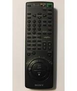 Sony VTR RMT-V184B VCR Plus Black Remote Control Controller - $11.60