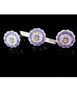 Vintage Sterling cufflinks - Merchant Marines - Kings port NY - graduati... - $175.00