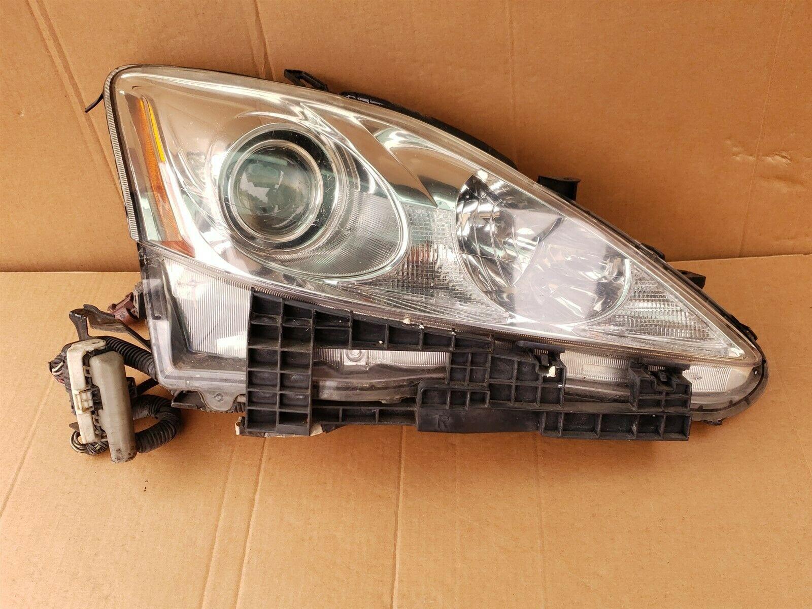 06-08 Lexus iS250 iS350 XENON HID Headlight Lamp Passenger Right RH - TYC