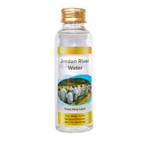 Blessed Holy Water from Jordan River Authentic Bottle Holy land 1.7 fl.o... - $7.92