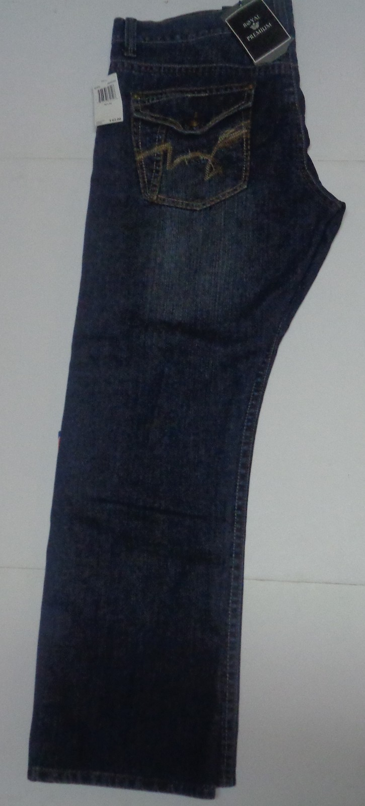 Royal Premium Men's Blue Jeans Sz 42 x 32 NWT