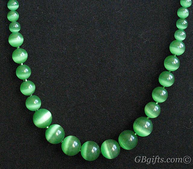 Green Necklace  #NG1400002
