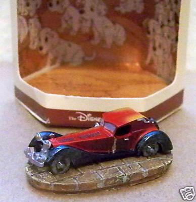 Disney 101 Dalmatians Cruella De Vil car miniature