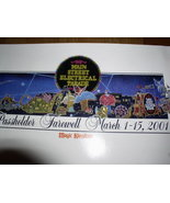 Disney Main Street Electrical Parade never sold Litho - $22.99