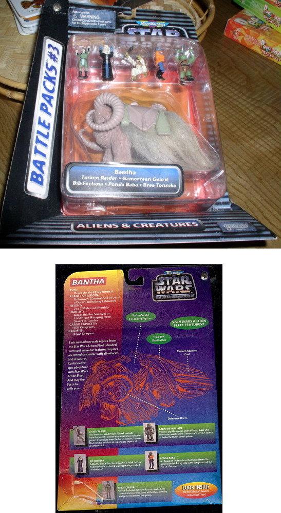 Star Wars Micro Macines Battle Packs 3 Aliens Creatures