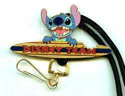 Disney Cast Memeber DLanyard - Lilo & Stitch Surfing