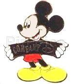 Disney Mickey Mouse Company D Cast member only pin/pi