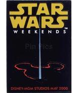 Disney MGM Star Wars Weekend Light Sabre Logo Pin/Pins - $33.85