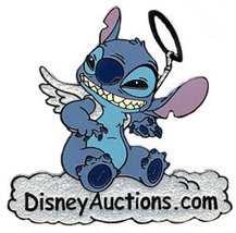 Disney Auctions - Stitch Angel Pin/Pins - $48.37