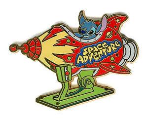 Disney Lilo & Stitch Space Adventure Pin/Pins