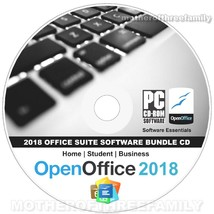 Open Office 2019 Suite Software CD Home Student Business for Microsoft W... - $12.19