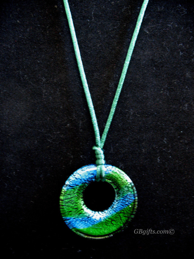 Green Pendant Necklace  #N0800004