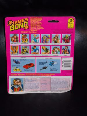"""1991 James Bond Jr. """"Jaws"""" Figure New In The Package"""