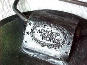 Vintage Model Railroad Industry Association-man's pewter belt buckle never worn