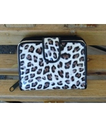 Womens Wallet Clutch Leopard Print Bifold Coin Credit Card Holder  - $4.50