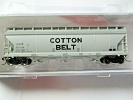 Intermountain # 67044 Cotton Belt 4650 3-Bay Covered Hopper N-Scale image 1