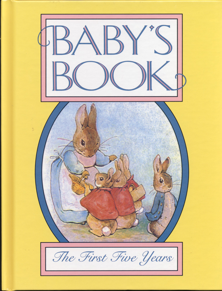 Baby's Book The First Five Years New Hardcover