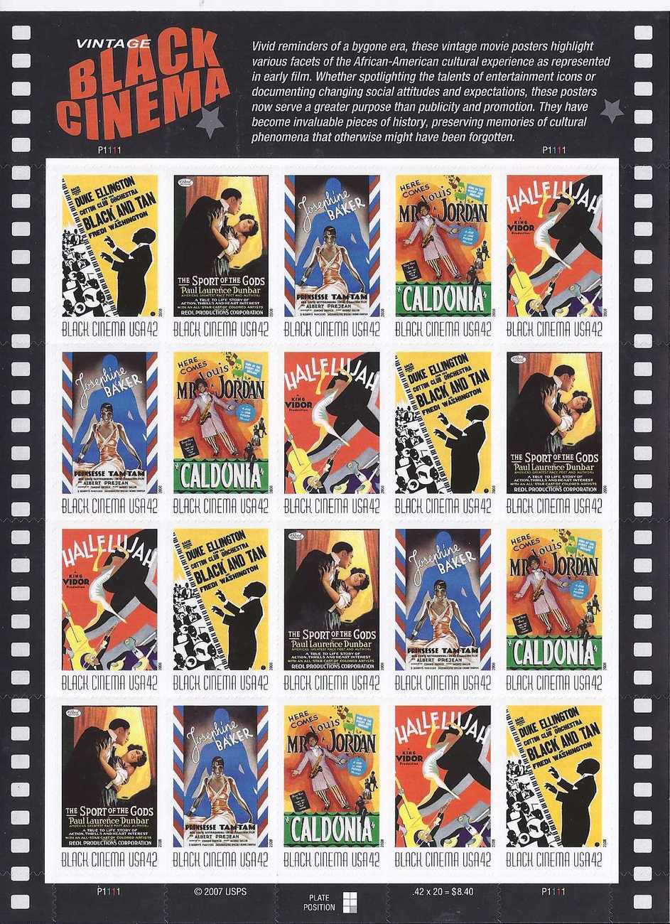 Stamps black cinema