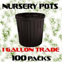 1 GALLON (TRADE) LERIO CUSTOM 010  NURSERY POTS 100 PACK - $1.006,30 MXN