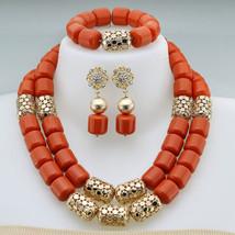 Fashion jewelry set African Nigeria bead jewelry wedding jewelry set - $67.99+