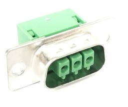 LOT OF 8 NEW GENERIC 3 PIN FEMALE CABLE CONNECTORS image 2