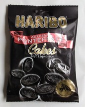 X10 200g Bags Of Haribo Authentic Pontefract Cakes Soft Liquorice Chewy ... - $13.47