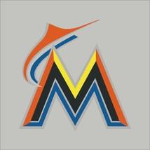 Miami Marlins #3 MLB Team Logo Vinyl Decal Sticker Car Window Wall Cornhole - $4.40+