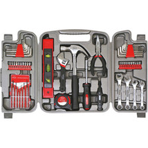 53 Piece Household Tool Set Garage Home Repair Pliers Wrench Hammer Driv... - $45.99