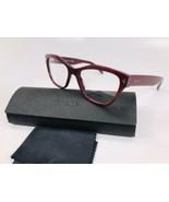 ✴ New Prada VPR 27S UF9-1O1 Burgundy Eyeglasses 51mm with Prada Case - $84.15